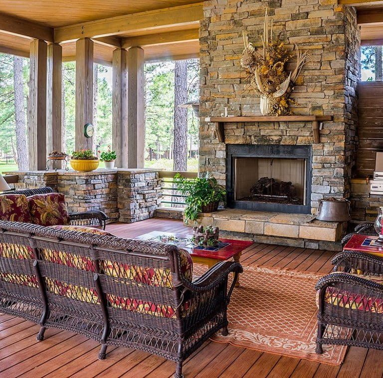 7 Gorgeously Painted Brick Fireplace Ideas | Alexander and Xavier Masonry
