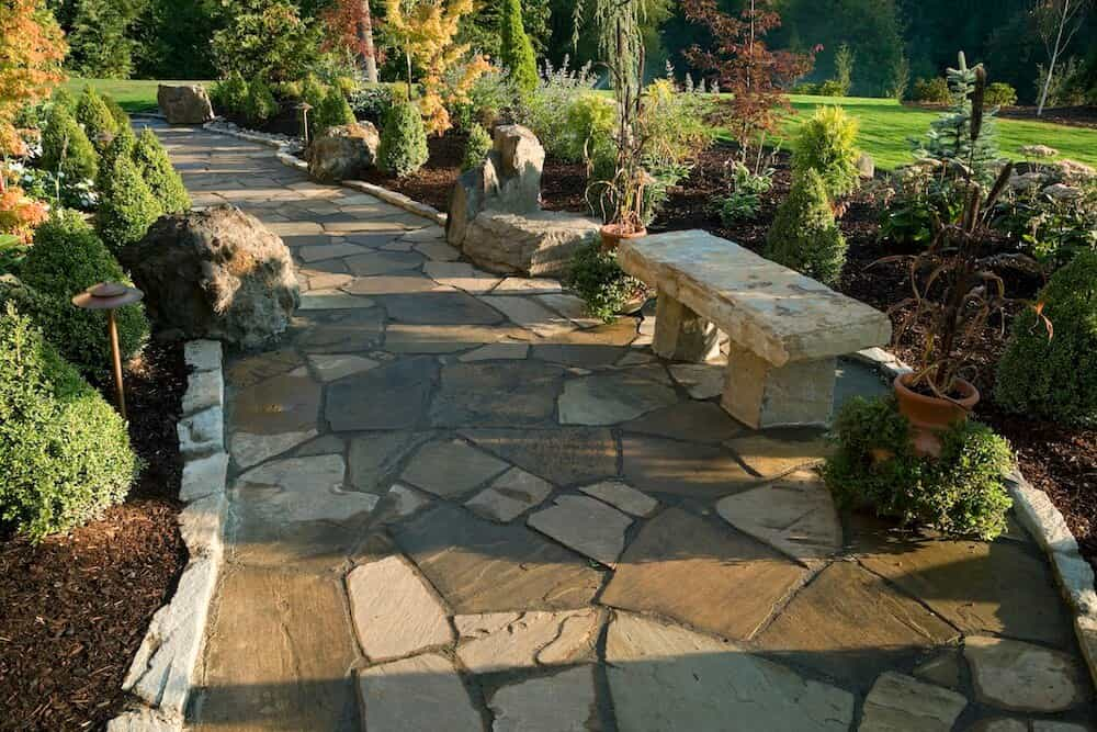 Common Types of Flagstone Limestone What is Flagstone | Alexander and Xavier Masonry