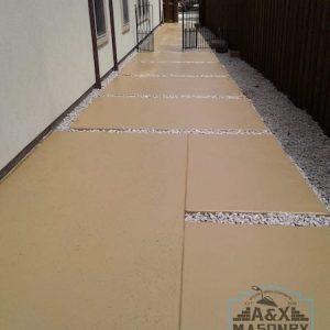 Concrete Walkway | Alexander and Xavier Masonry