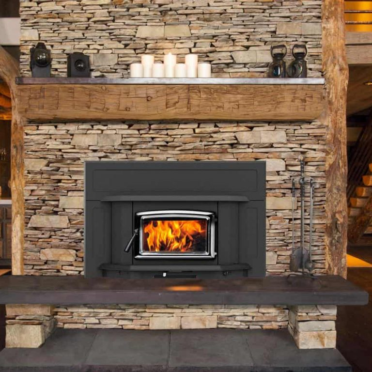 Enclosed Fireplaces Indoor Wood Burning Fireplace | Alexander and Xavier Masonry