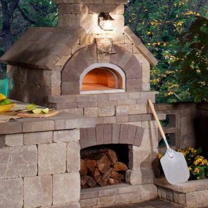 Fire Pit Pizza Oven| Fire Pit Ideas Outdoor Living | Alexander and Xavier Masonry