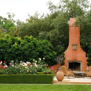 Garden Fireplace Fire Pit Ideas Outdoor Living | Alexander and Xavier Masonry