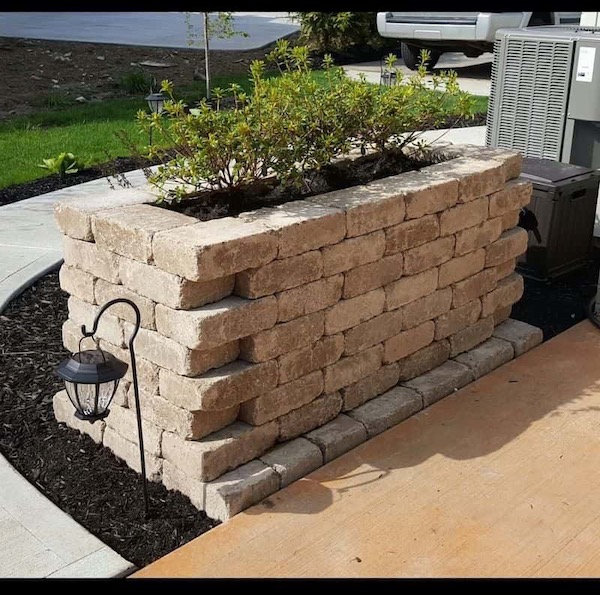 How To Build A Stone Planter In Texas DIY or hire a pro | Alexander and Xavier Masonry
