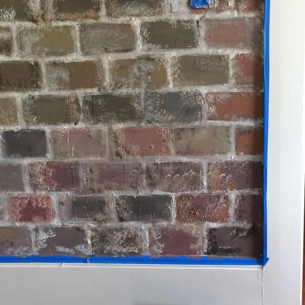 How to Do the Brick Paneling German Smear Faux Brick | Alexander and Xavier Masonry