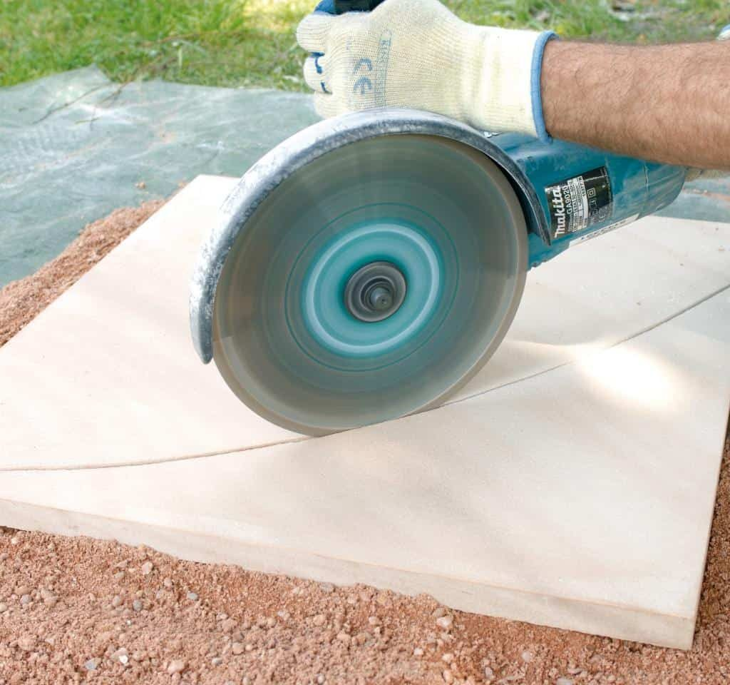 Method 2: How to Cut Flagstone with a Grinder How to Cut Flagstone | Alexander and Xavier Masonry