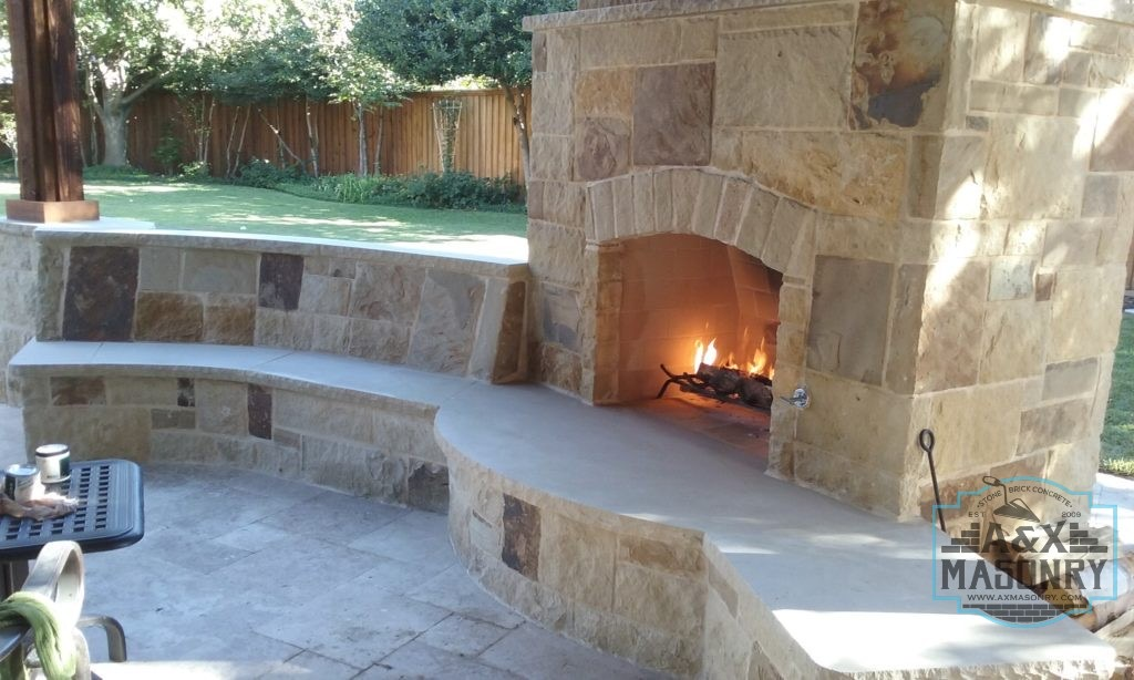 We are an Award-Winning Masonry Contractor Fireplace Remodeling Contractor | Alexander and Xavier Masonry