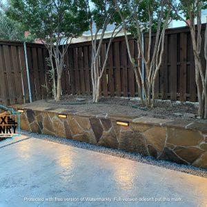 Outdoor stone wall design | Alexander and Xavier Masonry