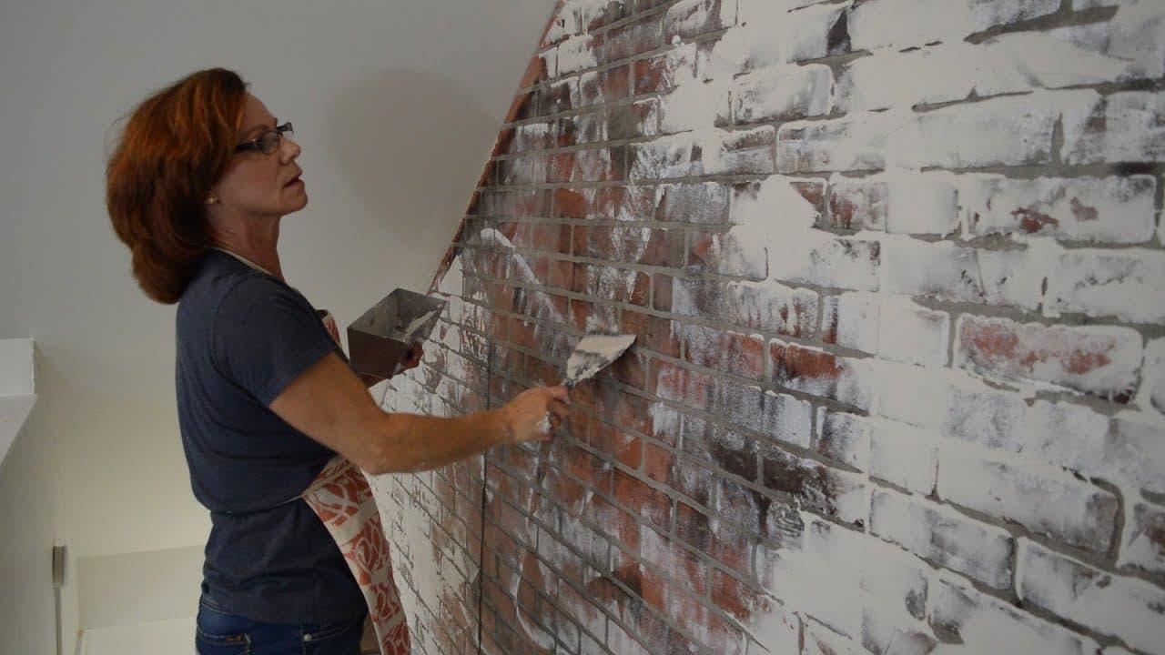 Painting a Brick German Smear House | Alexander and Xavier Masonry