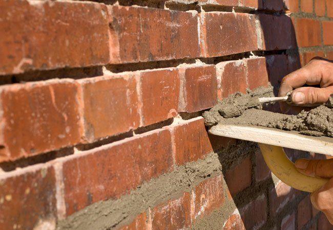 Sealing or Resealing the Mortar on the Bricks German Smear Maintenance | Alexander and Xavier Masonry