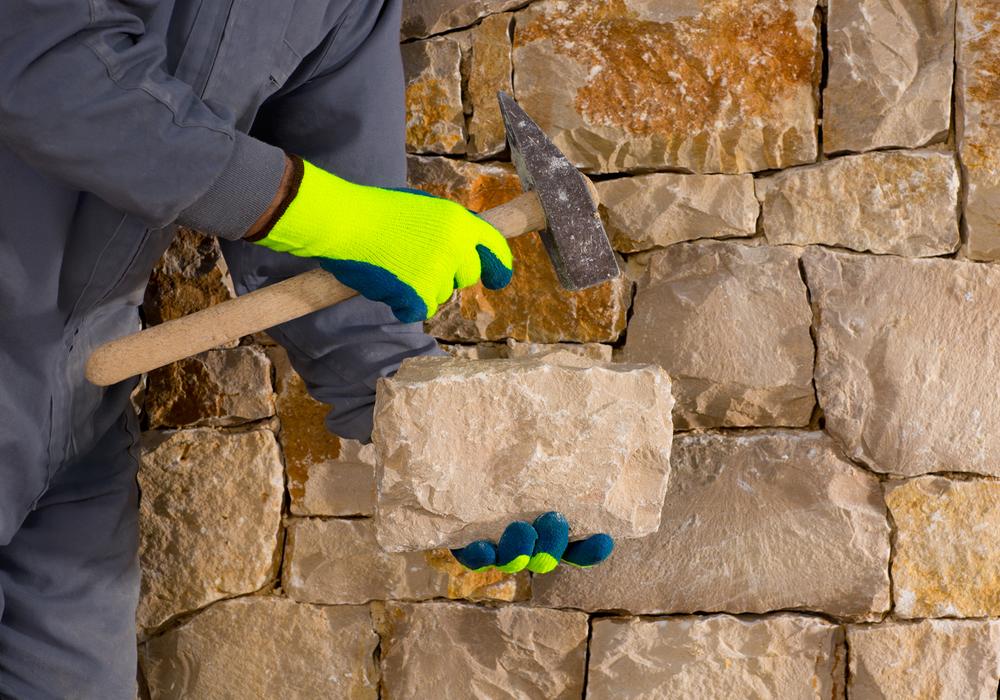 Dry Stone Masonry Tools | Alexander and Xavier Masonry