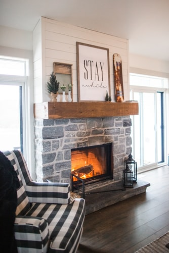 What Is the German Smear Technique German Smear Fireplace | Alexander and Xavier Masonry