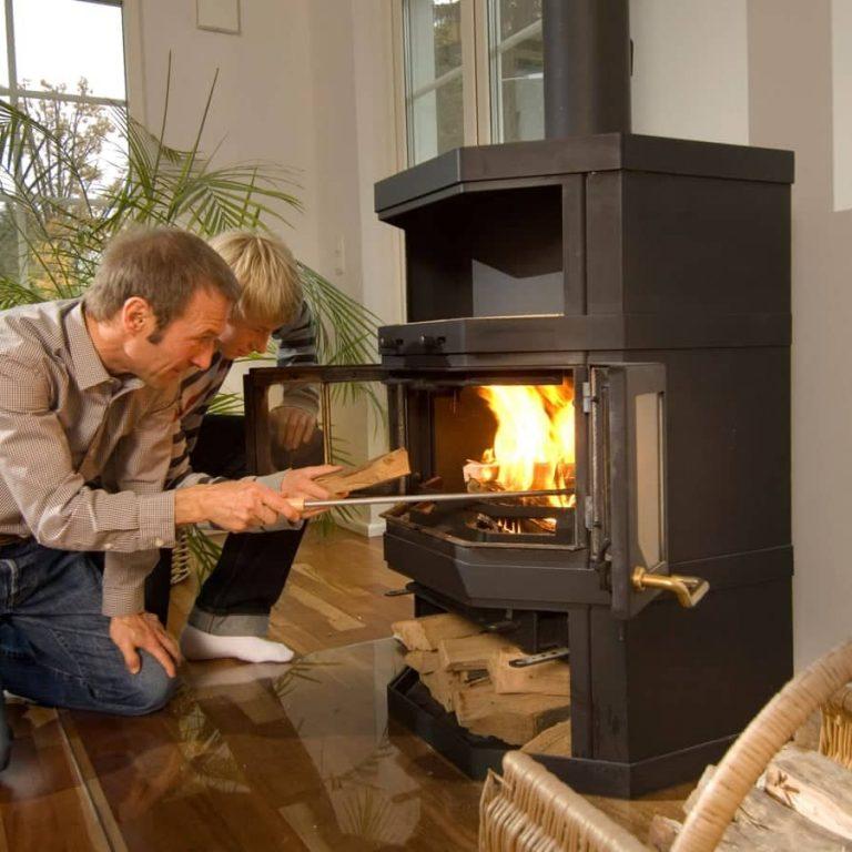 Wood-burning Stoves Indoor Wood Burning Fireplace | Alexander and Xavier Masonry