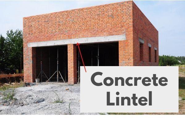 Concrete Lintel | Aleaxander and Xavier Masonry