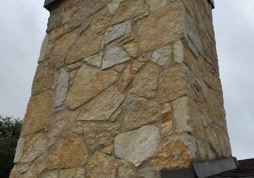 stone chimney repair | Alexander and Xavier Masonry