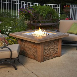 Fire Pit Table Fire Pit Ideas Outdoor Living | Alexander and Xavier Masonry