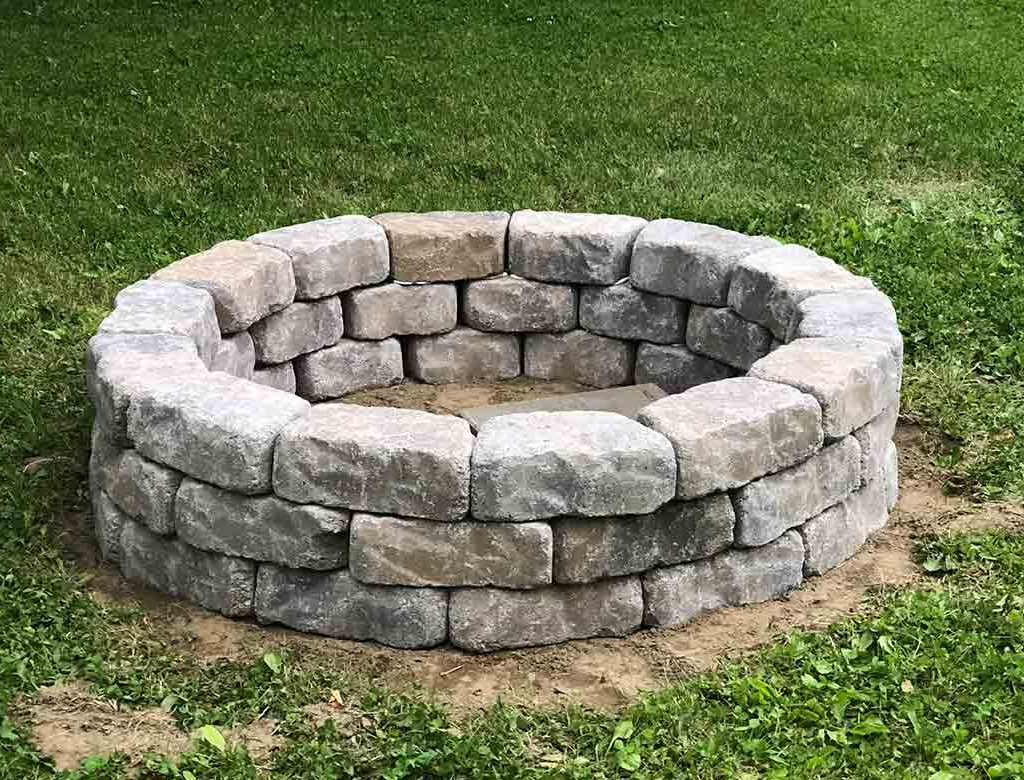 Basic DIY Notes to Remember Fire Pit Ideas Outdoor Living | Alexander and Xavier Masonry