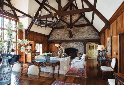 Lodge-Style | Alexander and Xavier Masonry