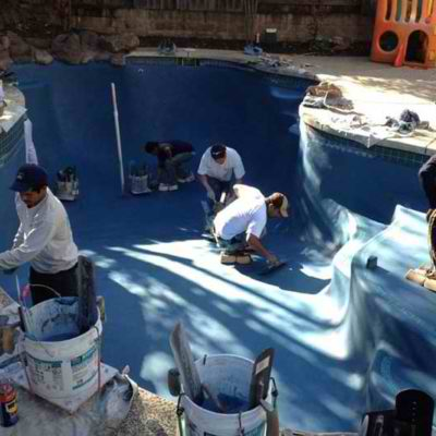 Pool Coping Replacement | Alexander and Xavier Masonry